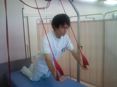 上肢、体幹の筋力強化