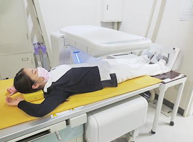 骨密度測定装置(ALPHYS LF)